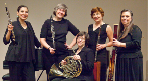 Faculty wind quintet exhibits talents of FAPA professors