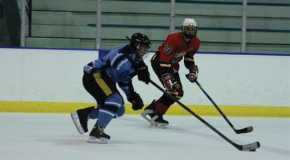 Ice hockey implements new players to thriving club program