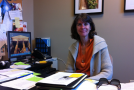 Mary Krikorian assists currently enrolled, alumni in job search