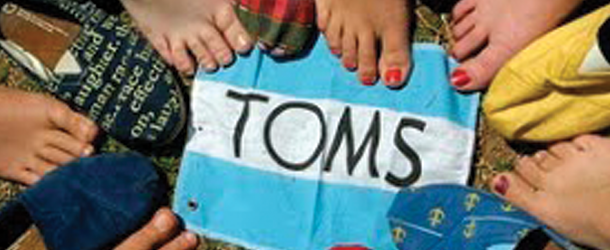 New TOMS club brought to people that enjoy giving back