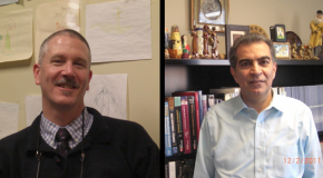 Dr. Varamini, Dr. Hagan encourage visits to work spaces
