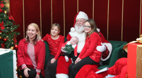 Santa school brings spirit to malls around country