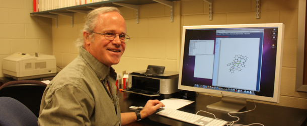 Prof. Hoffman energizes classrooms through thrilling experiments