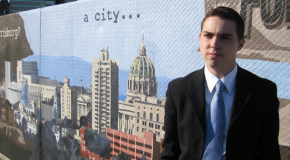 Harrisburg's newest treasurer brings passion to politics