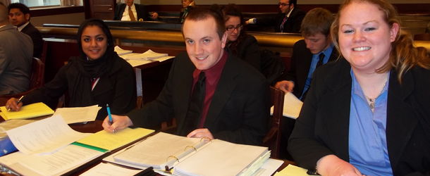 Sean Post leads mock trial team over Ivy Leagues