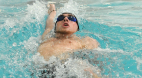 Swim team pushes through five-meet losing streak