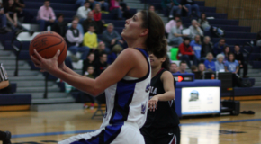Women's basketball prevails in overtime