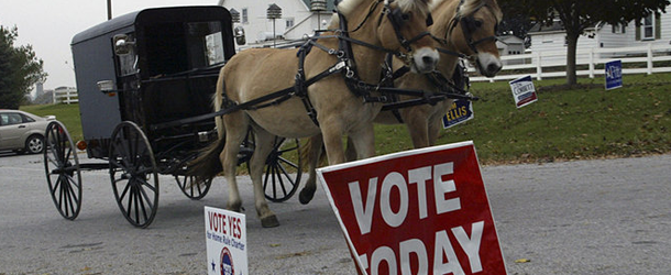 New law in Pa. keeps Amish from casting their vote