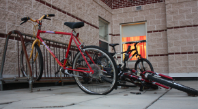 Bike racks to be installed at apartments, quads