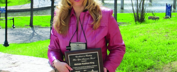 Dr. Michele Lee Kozimor-King wins McGraw-Hill Excellence Award