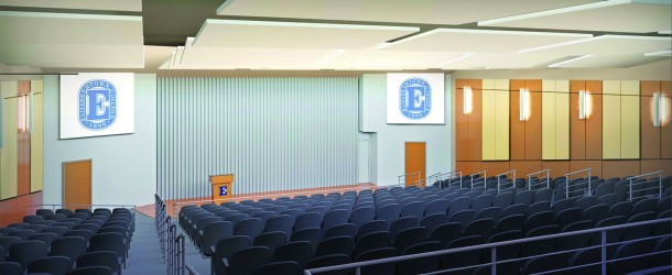 Phase 1 of $175,000 Gibble Auditorium renovation complete
