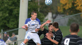 Overtime goal puts Jays 1-0 in conference