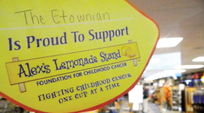 College store sponsors children's cancer research