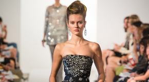 Sweeping beading patterns, white outs: funky trends to watch out for at spring 2013 Mercedes-Benz Fashion Week by Elizabeth Brennan