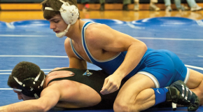 Meaney's pin gives Jays win