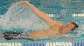 Seniors honored at King's meet; men come away with win