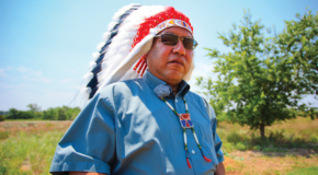 Kreider Fellow Dick lectures on peace speeches of Cheyenne chief