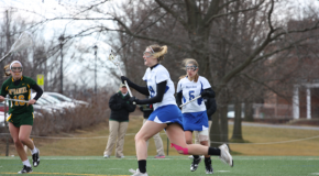 Lacrosse unable to upset another ranked opponent, fall to Amherst