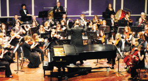 Student musicians, vocalist win department's concerto competition; orchestra ensemble dazzles during spring concert