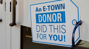 'Tag the 'Town' event shows gratitude for donor's gifts