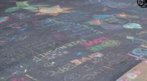 Chalk the Walk spreads the love