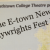 Students' plays given staged readings in New Playwrights Fest