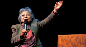 Hiroshima bombing survivor Shigeko Sasamori spreads message of peace, empathy