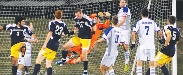Men's soccer suffers devastating loss in championship