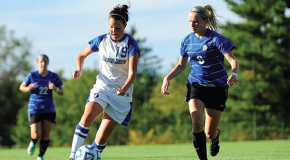 Women's soccer receives at-large bid to face Trinity College
