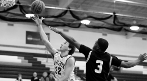 Men's basketball finds win against Arcadia in rescheduled game