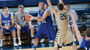 Men's basketball season comes to close with loss to rival Albright