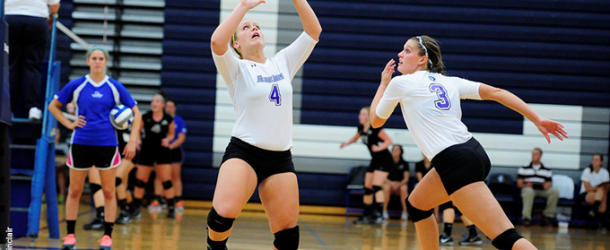 Volleyball wins in four sets over Gettysburg