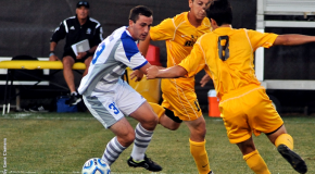 Men's soccer readies for Smith Herr Boot game against rival