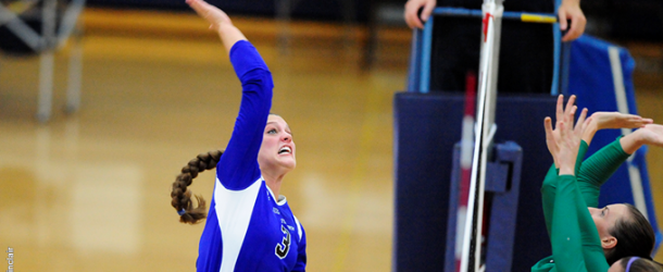 Women's volleyball struggle to find footing in Blue Jay Classic