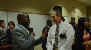 Liberian ambassador discusses rebuilding, state of his home country