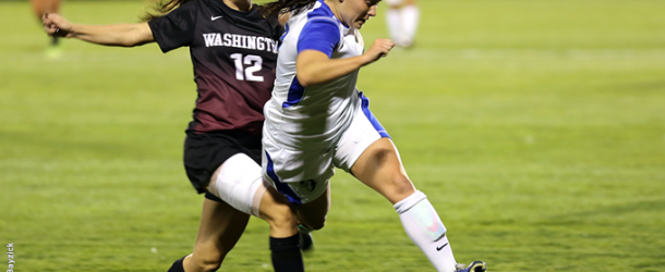 Women's soccer hitting stride with final Landmark games looming