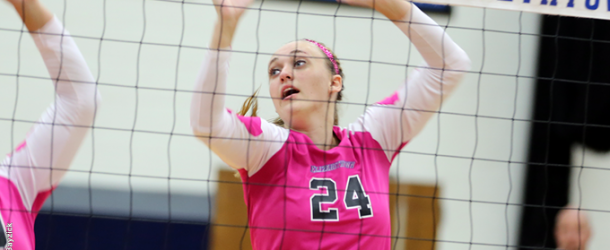 Women's volleyball sweeps three straight opponents