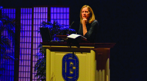 Donna Hicks speaks at Leffler about dignity, successful conflict mediation