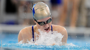Women's swim team earns first victory of the season