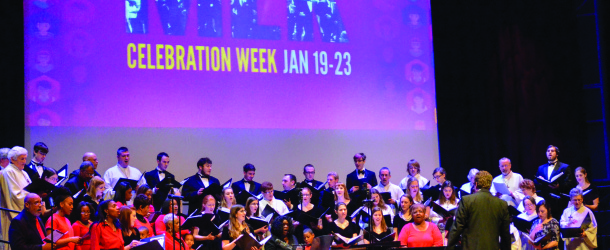 Martin Luther King Jr. week celebrates diversity with gospel extravaganza, interfaith prayer service, candlelight march