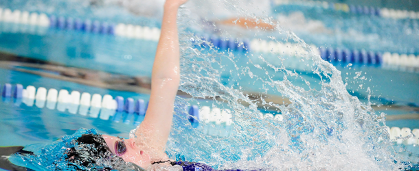Women's swimming finishes ninth in first Landmark Championship meet