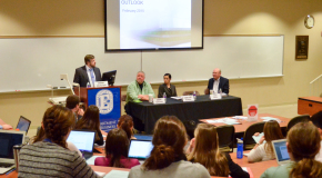 Business department hosts annual economic symposium, offers students look at present, future of global economy