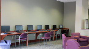 BSC computer station undergoes renovations for ease of use