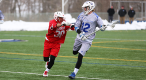Men's lacrosse tops Dickinson College, falls to SUNY Oneonta