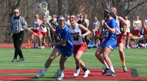 Two losses for women's lacrosse drops record under .500