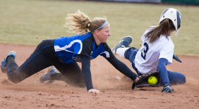 Softball drops doubleheader with Moravian