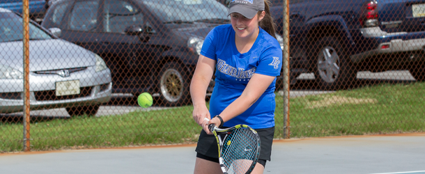 Women's tennis takes down Catholic, moves on to Championships