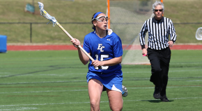 Stang hits 50 goals, lacrosse wins finale