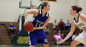 Women's basketball wins third straight, defeats Merchant Marine