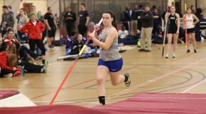 Deam places fifth in pole vault as track competes at Collegeville